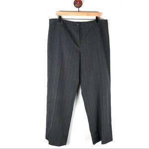 Cabi 16 Career pants grays stripe trousers